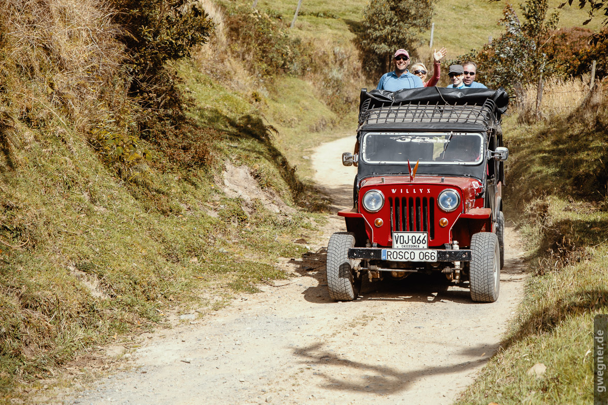 Gunther Wegner Jeep Photo Colombia 2018